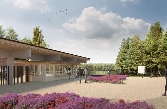 Ingang Plantentuin Meise-dorp opent eind mei